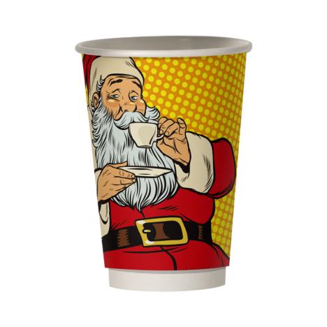 Χάρτινο Ποτήρι Χριστουγεννιάτικο