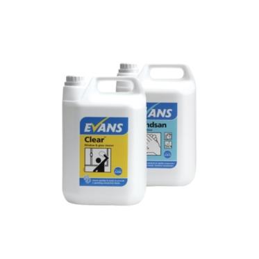 Σειρά Απορρυπαντικών Evans με προδιαγραφές HACCP