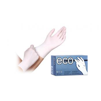 Γάντι Latex Με Πούδρα Λευκό Μίας Χρήσης