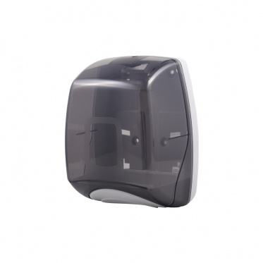 Μαύρη συσκευή για χαρτί υγείας